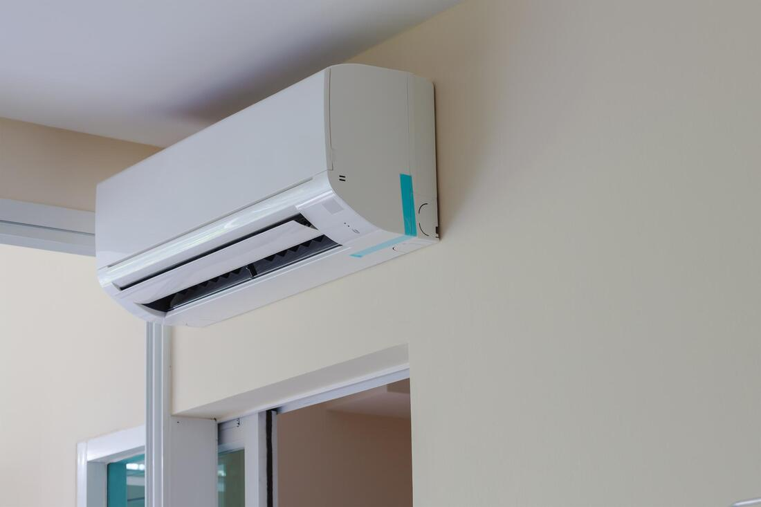 completed ductless mini split installation